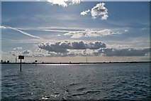 SU6202 : Autumn in Portsmouth Harbour by Colin Babb
