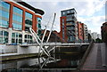 SP0687 : Footbridge over the canal by N Chadwick