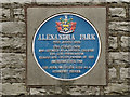 SD9204 : Alexandra Park: Blue Plaque by David Dixon