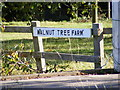 TM3477 : Walnut Tree Farm sign by Adrian Cable