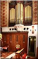 TQ2778 : St Simon Zelotes, Milner Street, London SW3 - Organ by John Salmon