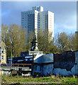 NS5661 : Remains of Pollokshaws Baths and Steamie : Week 42