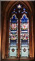 TQ3181 : St. Etheldreda's Church, Ely Place, EC1 - nave window, south side (1) by Mike Quinn