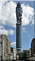 TQ2981 : British Telecom Tower, Cleveland Street (2) by Stephen Richards