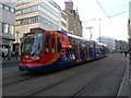 SK3587 : Stagecoach Supertram in Sheffield by Steven Haslington