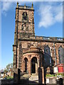 SJ5441 : St Alkmunds Church, Whitchurch by Carol Walker