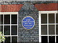 TQ2979 : Blue Plaque at 16 Stafford Place, London by PAUL FARMER