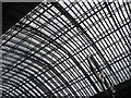 TQ3082 : Roof, St Pancras by Richard Webb