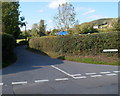 SO5015 : Eastern end of Manson Lane, Monmouth by John Grayson