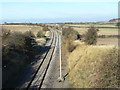 SK6331 : Railway towards Nottingham by Alan Murray-Rust