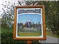 TL6052 : West Wratting Village Sign by Finlay Cox