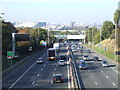 TQ4077 : A102 road at Blackheath by Malc McDonald