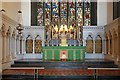 TQ2978 : St Saviour, St George's Square, Pimlico - Sanctuary by John Salmon