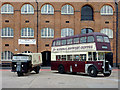 SK2423 : Vintage vehicles at the Brewery Museum, Burton-upon-Trent by Roger  Kidd