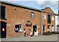 SK1414 : Shop in old canal buildings at Fradley Junction by Roger  Kidd