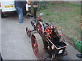 TQ4881 : Man of Kent traction engine by Robert Lamb