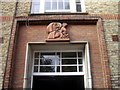TQ2578 : Stone above door of Rupert House, Nevern Square, Earls Court by PAUL FARMER