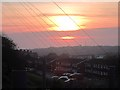 TQ8210 : Sunset over Farley Bank by Oast House Archive
