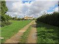 TL2462 : Cottage, Toseland by Hugh Venables