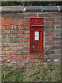 SK6334 : Clipston postbox ref no.NG12 127 by Alan Murray-Rust