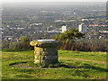 SJ9693 : Viewpoint at Werneth Low Country Park. by David Dixon