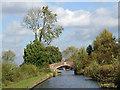 SJ9420 : Approaching Hazlestrine Bridge south-east of Stafford : Week 43