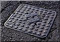 J3171 : Mallons manhole cover, Belfast (2) by Albert Bridge