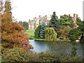 TF6928 : The Upper Lake and house, Sandringham by Elliott Simpson