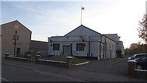 NS7659 : New Stevenson Orange Hall by Richard Webb