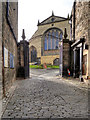 NT2573 : Greyfriars Kirk and Bobby's Grave by David Dixon