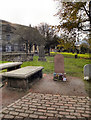 NT2573 : Greyfriars Kirkyard and John Gray's Grave by David Dixon
