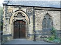 SE1516 : Doorway, Christ Church, Moldgreen by Humphrey Bolton