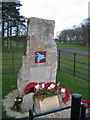 SJ7581 : The Paras Memorial Stone by Peter Turner
