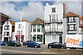 TQ8209 : Seafront buildings, East Parade by N Chadwick