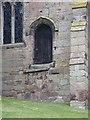 SJ6643 : Parish Church of St James the Great, Audlem, Doorway by Alexander P Kapp