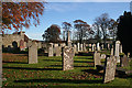 NJ6949 : Forglen Kirkyard by Anne Burgess
