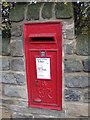 SE3516 : George VI postbox, Walton by Pauline Eccles