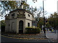 TQ2782 : Hanover Gate Lodge at entrance to Regent's Park by Peter Barr