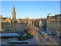 SE1632 : Bradford city centre from the Hilton Hotel by Ruth Sharville