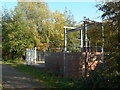 SK6031 : Debdale Lane Sewage Pumping Station by Alan Murray-Rust