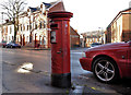 J3273 : Pillar box, Belfast by Albert Bridge
