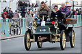 TQ3103 : 1904 Cadillac approaching the Finishing Line - 6 November 2011 by Christine Matthews