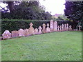 ST8820 : Gravestones, St Thomas's Churchyard by Miss Steel