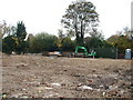 TL8464 : Groundworks for care home extension by John Goldsmith