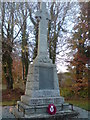 NH5545 : Kirkhill war memorial by Craig Wallace