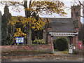 SJ8882 : Christ Church and Lychgate, Woodford by David Dixon