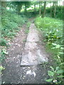 SE1222 : Stone blocks on Bridleway by Derek Mowbray