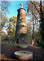 TQ1272 : The Shot Tower, Crane Park by Des Blenkinsopp