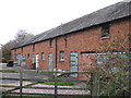 SJ6163 : Front of former stable block at Bawk House Farm by Dr Duncan Pepper