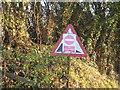 SJ6562 : DIY Roadsign at Primrose Hill by Dr Duncan Pepper